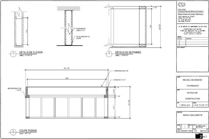 projets d 39 architecture sarah g design. Black Bedroom Furniture Sets. Home Design Ideas