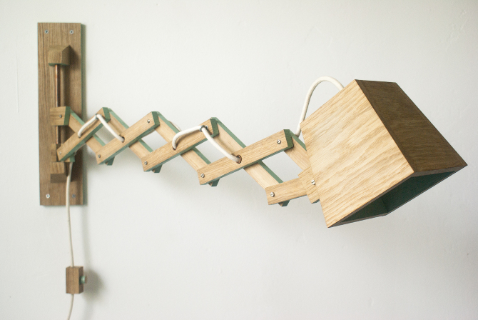SCISSOR LAMP - Jasper Goossensen Portfolio