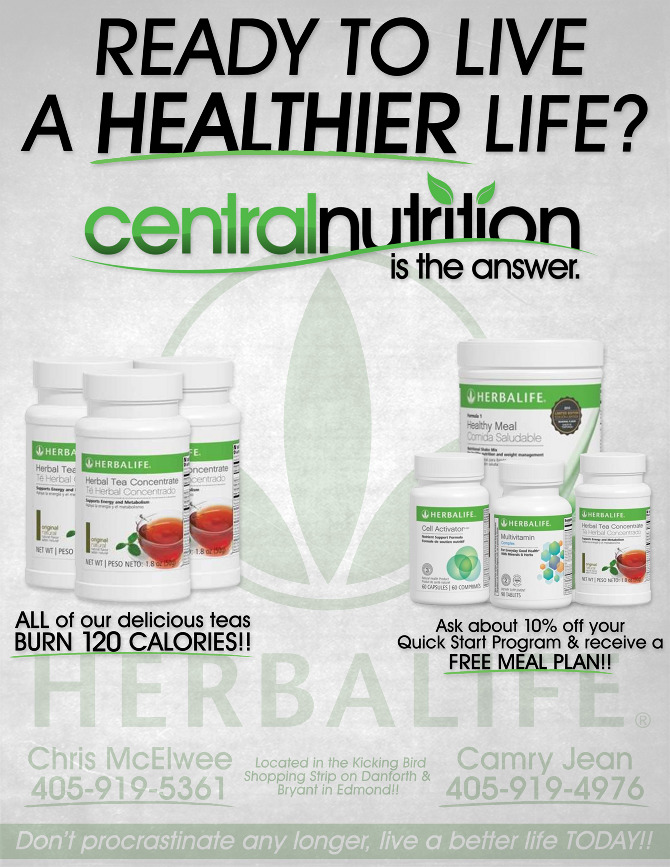 Company logo - Central Nutrition - PHRESH Design
