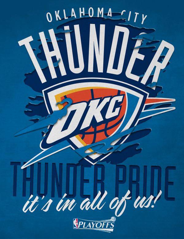 Okc Thunder Thunder Pride